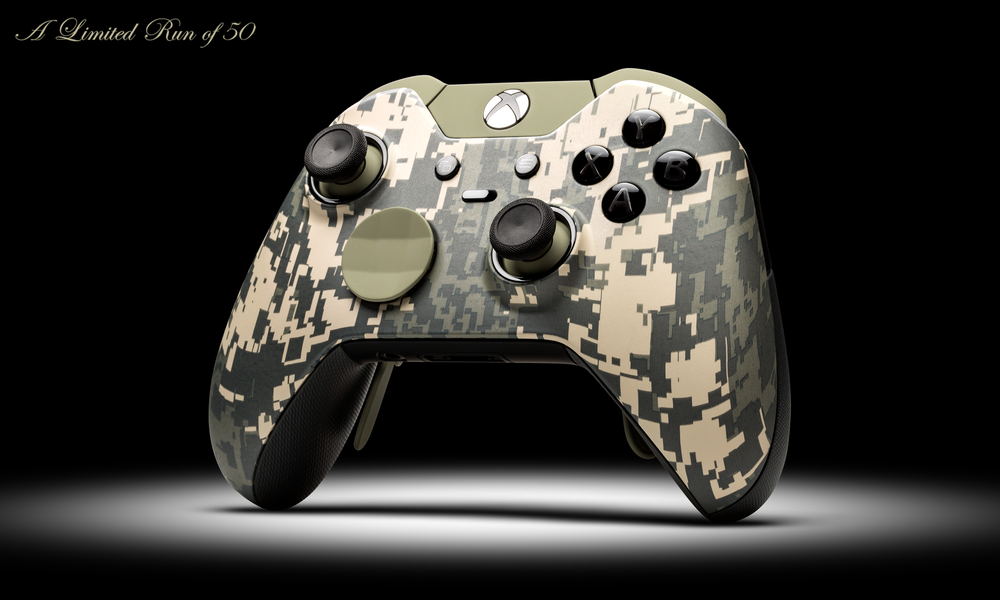 Pictures of Xbox One Controller Custom Camo - #rock-cafe